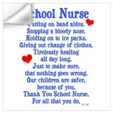 School Nurse Wall Decal